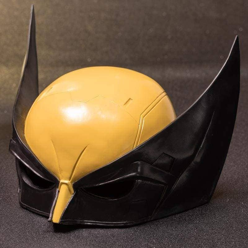 Xcoser X-men Wolverine Cosplay Resin Mask and Pu Leather Gloves - Helmet 3