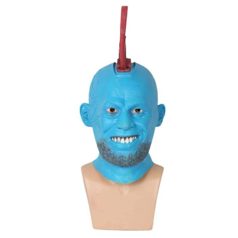 Yondu Latex Mask Head Fin Guardians Of The Galaxy Cosplay - 2