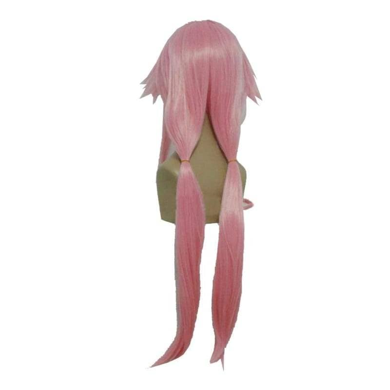 Yuno Gasai Wig Future Diary Long Pink Anime Cosplay - Wigs 2