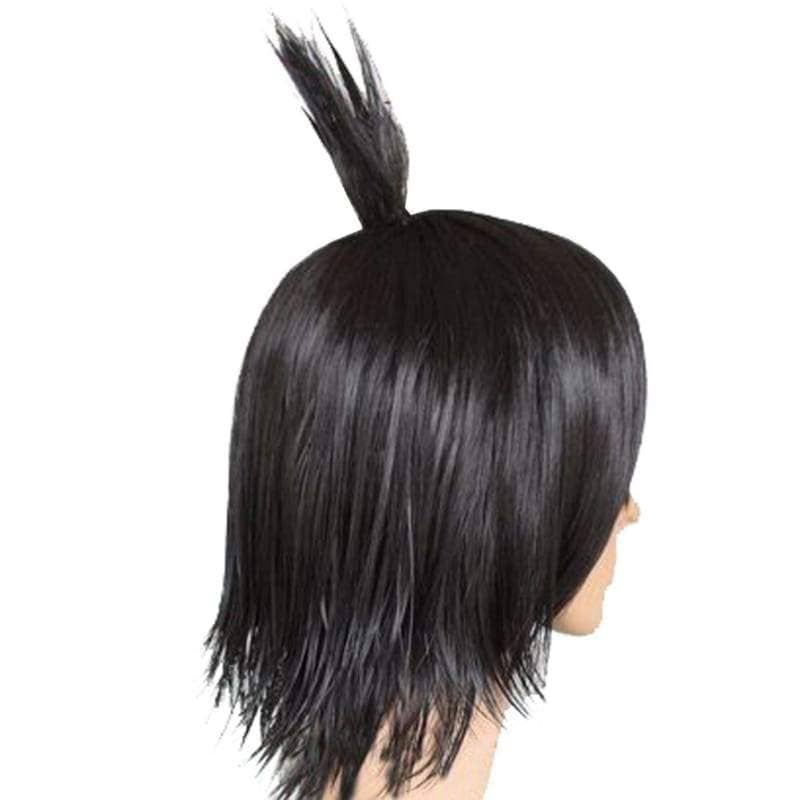 Zeref Wig Fairy Tail Dragneel Short Black Party Cosplay Heat Resistant - Wigs 3