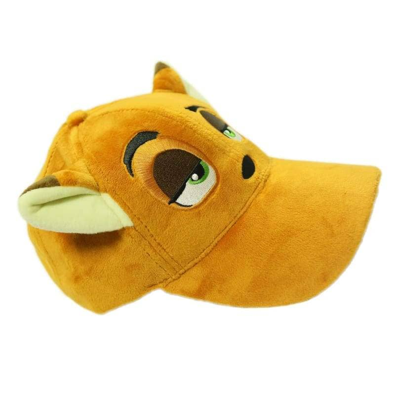 Zootopia Nick Hat With Fox Ears Plush Baseball Cap Cosplay Costume Accessories - Hats 2