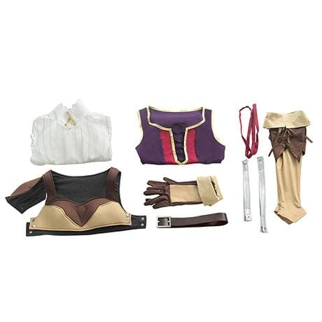 Xcoser The Rising of the Shield Hero Raphtalia Cosplay Costume