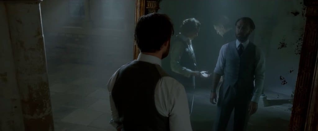 Blood Pact and What happen to Dumbledore and Grindelwald