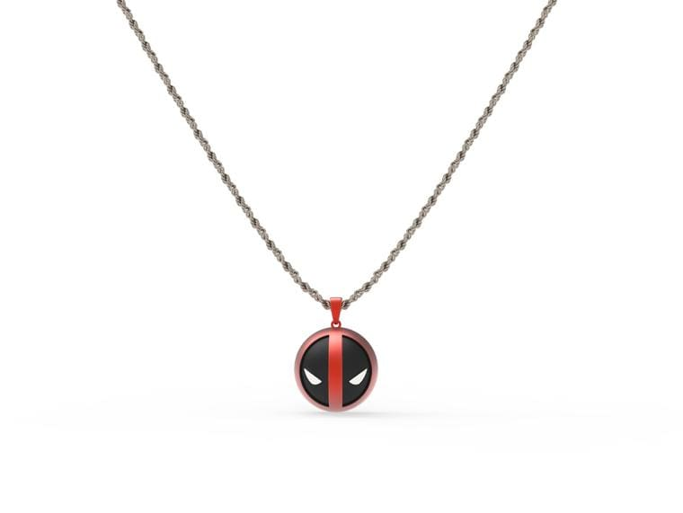 Designer daily Deadpool Necklace