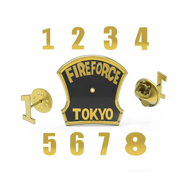 Designer Daily Fire Force Special Fire Force Company Badges