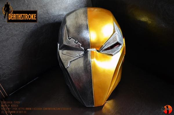 Do you know how simple it is to make Deathstroke Costume