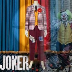 Joker 2019 Arthur Fleck Clown Cosplay Costume