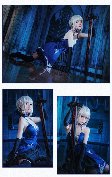 Xcoser Fate Saber Alter Arutoria Pendoragon Cosplay Costume