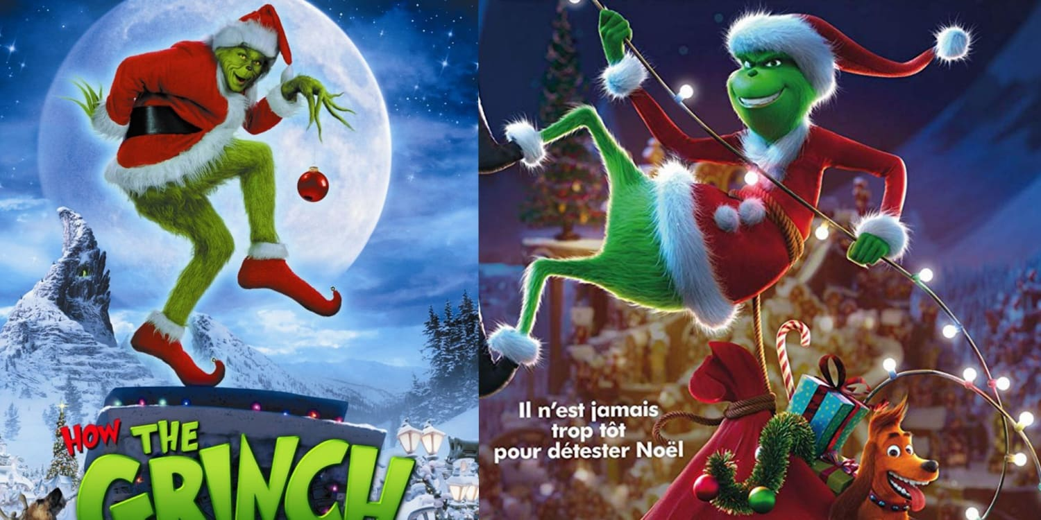 The Grinch Vs The Grinch 2018 Which Is Your Favorite Xcoser International Costume Ltd