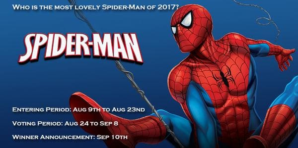 Who is the most lovely Spider-man cosplayer of 2017