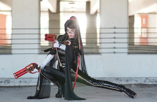 Xcoser Bayonetta Costume Review by Megan Coffey