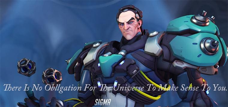 The 31st Overwatch Hero Sigma Mysterious Scientist Who Manipulates Gravity!