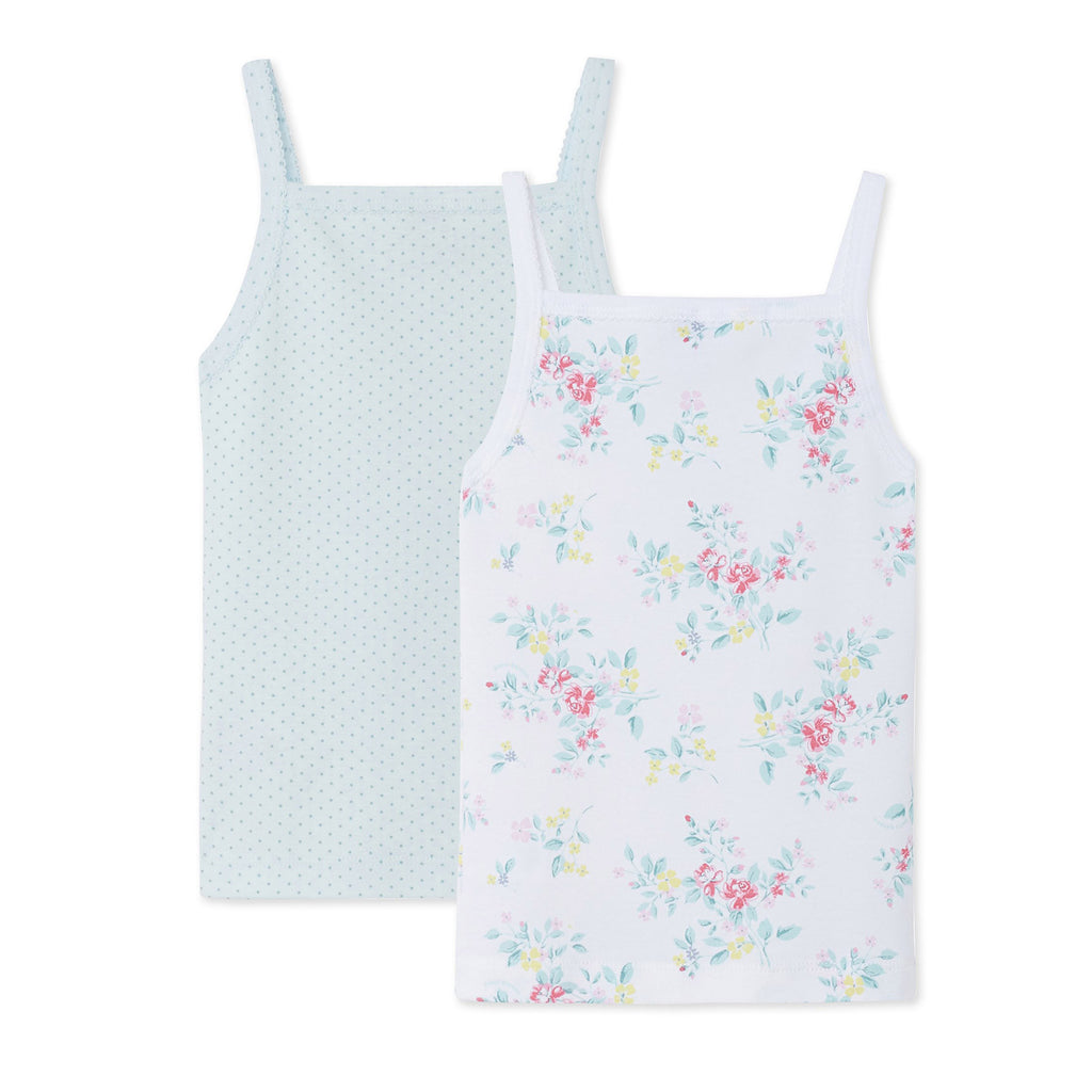 2 Pack of Camisole Set- Blue Floral