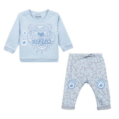 Boys Swim Trunks with Pouch- Sky Blue