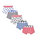 5 Pack of Boxers Set- Stars & Stripes