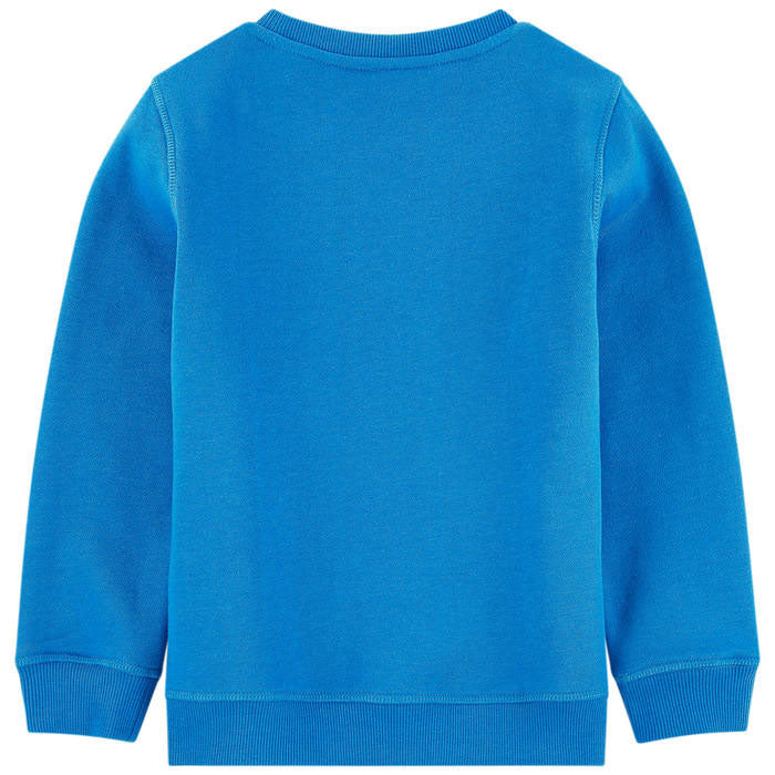 721c9a09 Boys Blue Embroidered 'Tiger' Sweatshirt