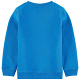 Boys Blue Embroidered 'Tiger' Sweatshirt