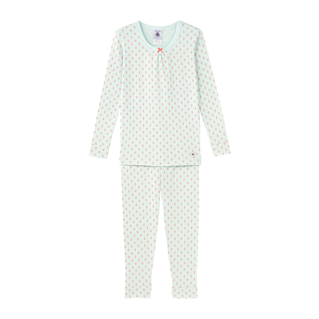 Aqua 2 Piece Pajamas