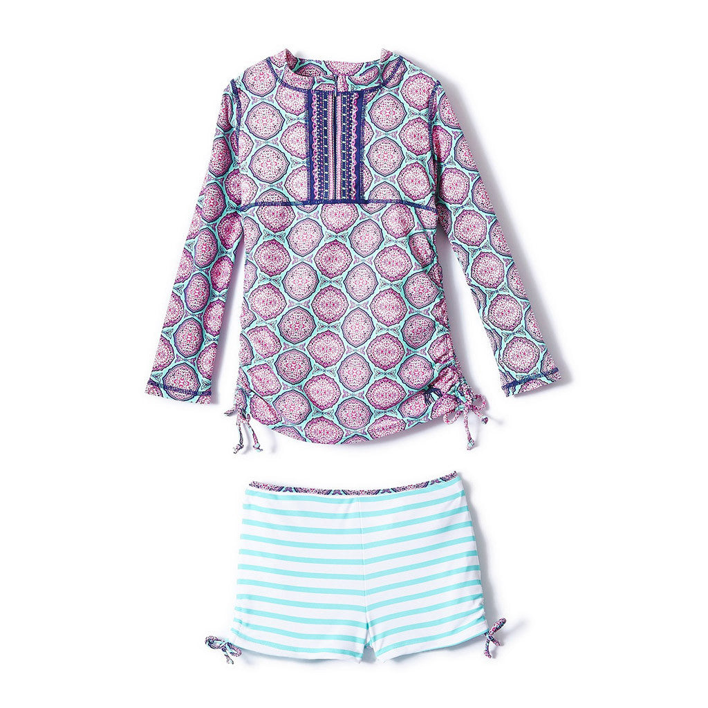 Azalea Shores Rashguard Swim Set - Occasion Kids