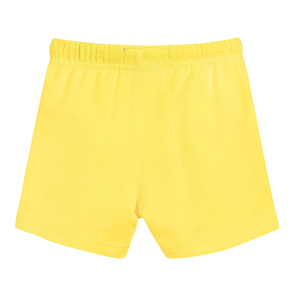 Baby Boy Yellow Sport Shorts