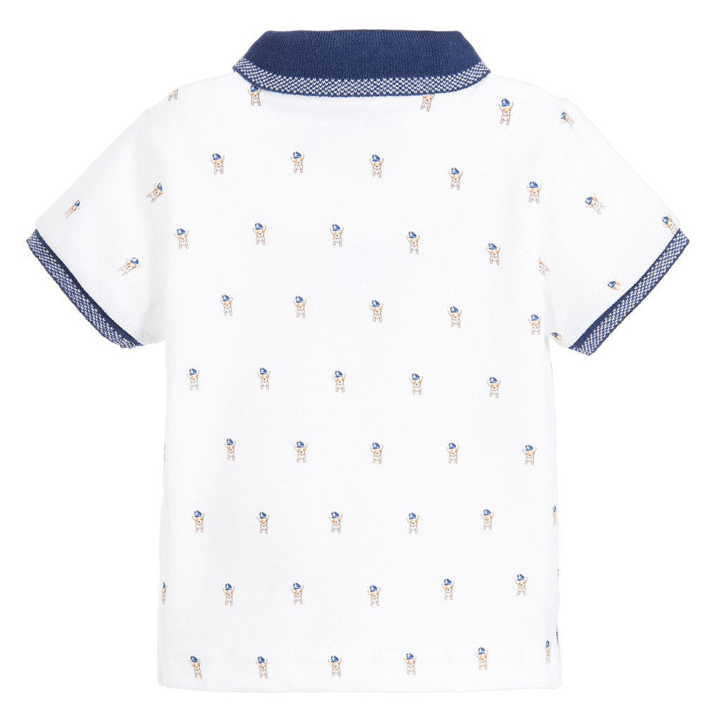 Baby Boys Polo Shirt with Print
