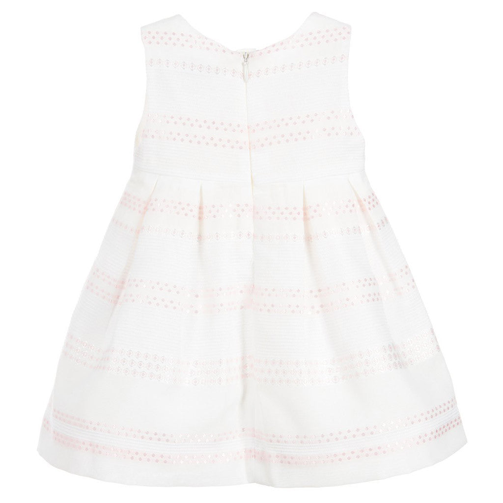Baby Dress with Pleated Skirt