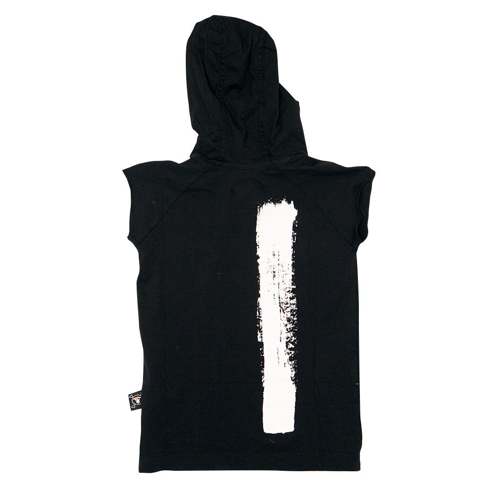 Black Hooded Ninja Shirt