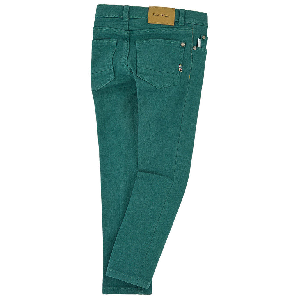 Boy Slim Jeans Green - Occasion Kids