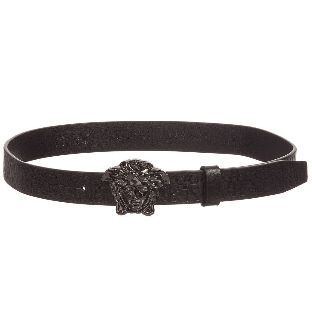 Boys Belt with Medusa and All over - Occasion Kids