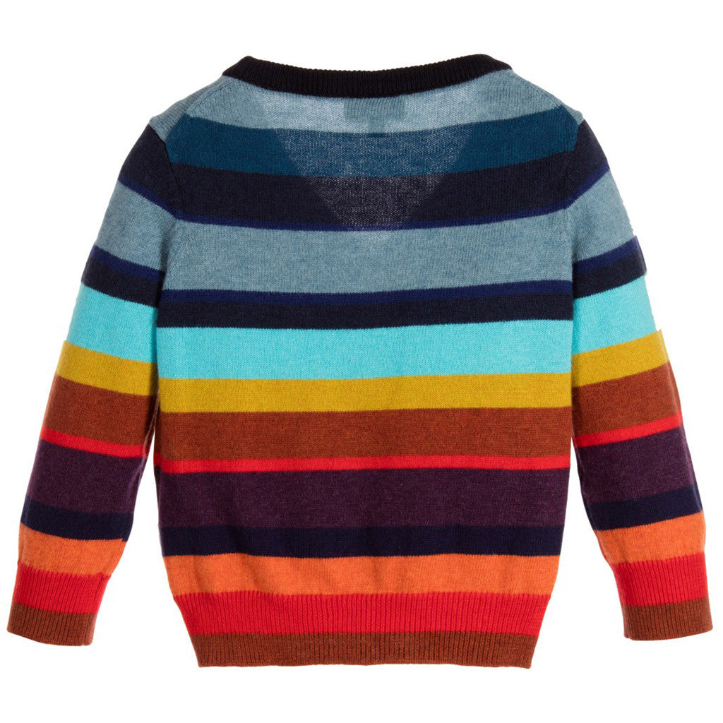Boys Colourful Cashmere Cardigan - Occasion Kids