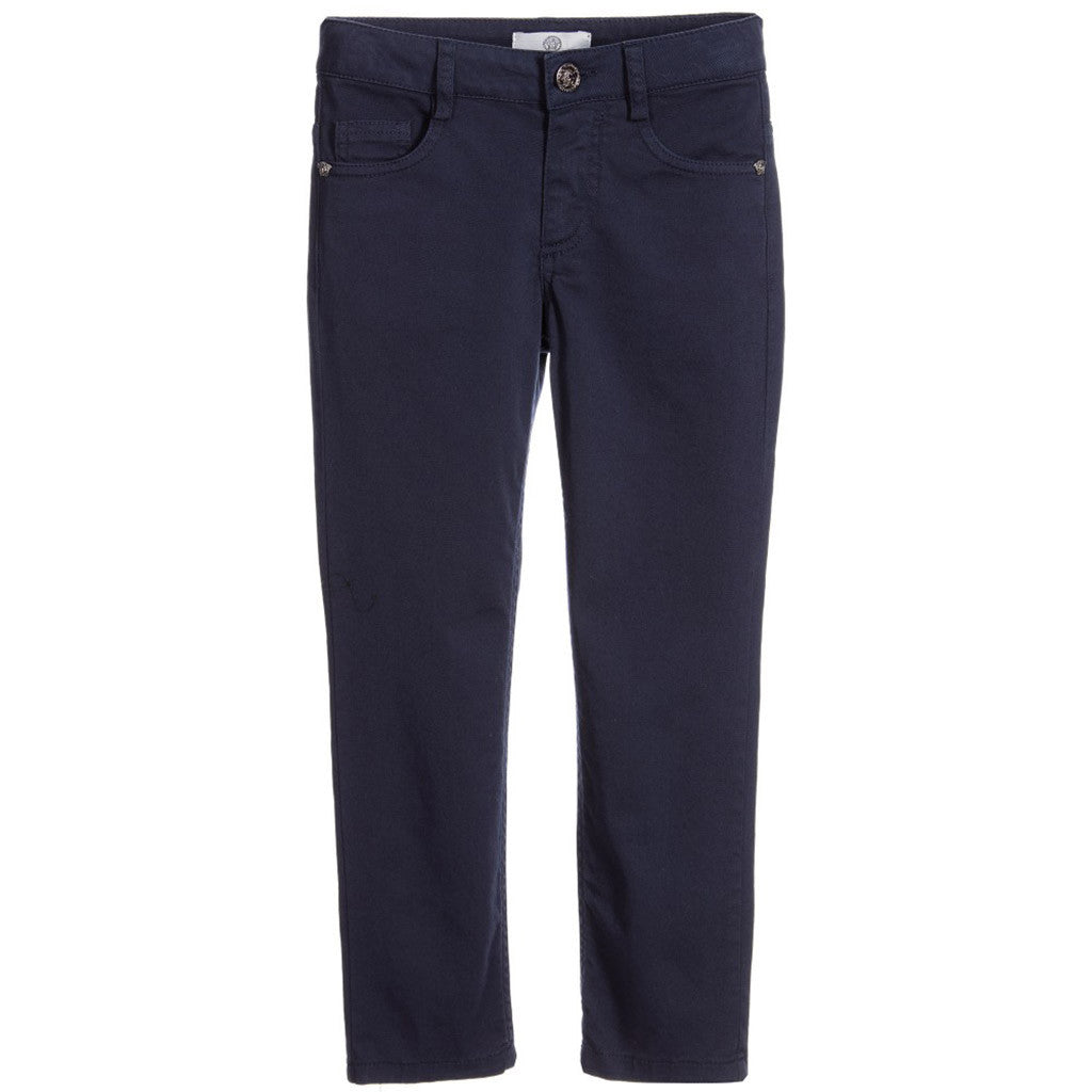 Boys Cotton Twill Trousers - Occasion Kids