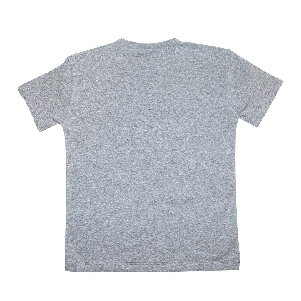 f049a090b50d Boys Gray Medusa Logo T-shirt – Occasion Kids