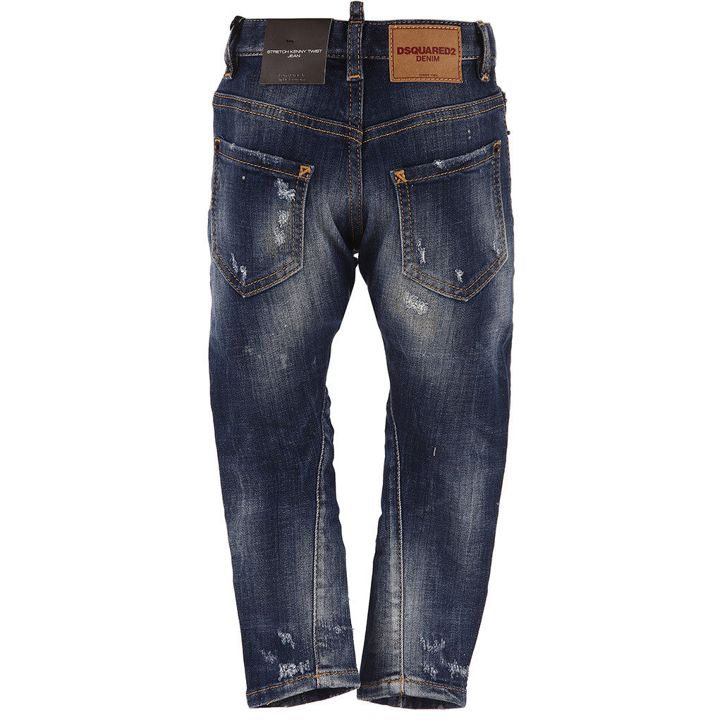 Boys Light Wash Denim Jeans