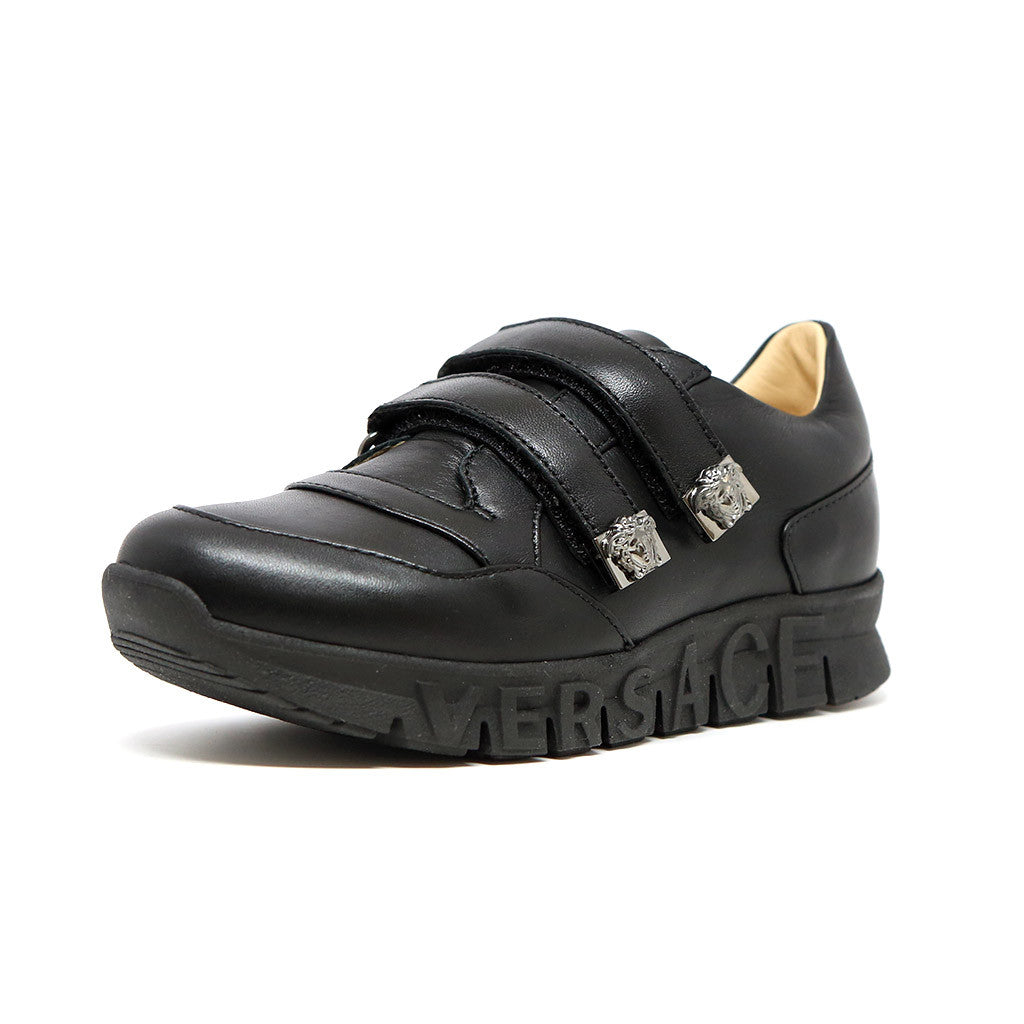 Boys Velcro Sneakers with Medusa