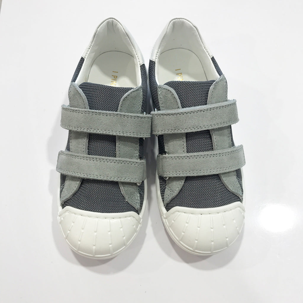 Boys Blue Velcro Sneakers