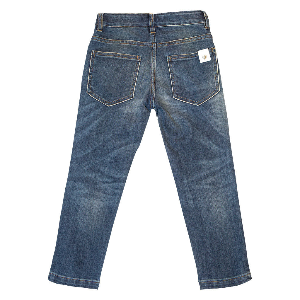 Boys Jeans with Medusa Logo