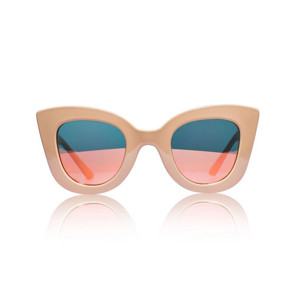 Cat-Cat Tan with Pink Revo Lens