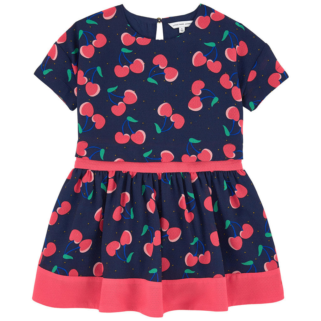 Cherry Allover Printed Dress