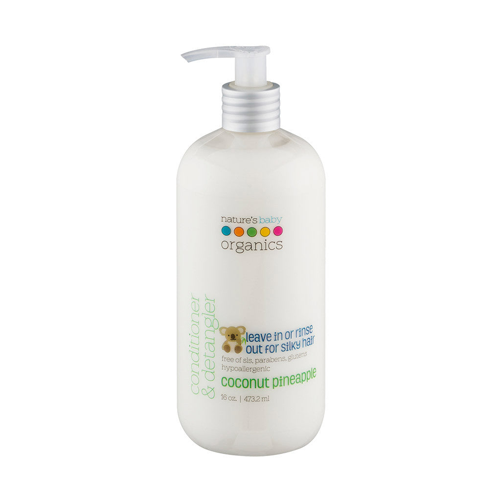 Conditioner & Detangler Coconut Pineapple 16 oz.