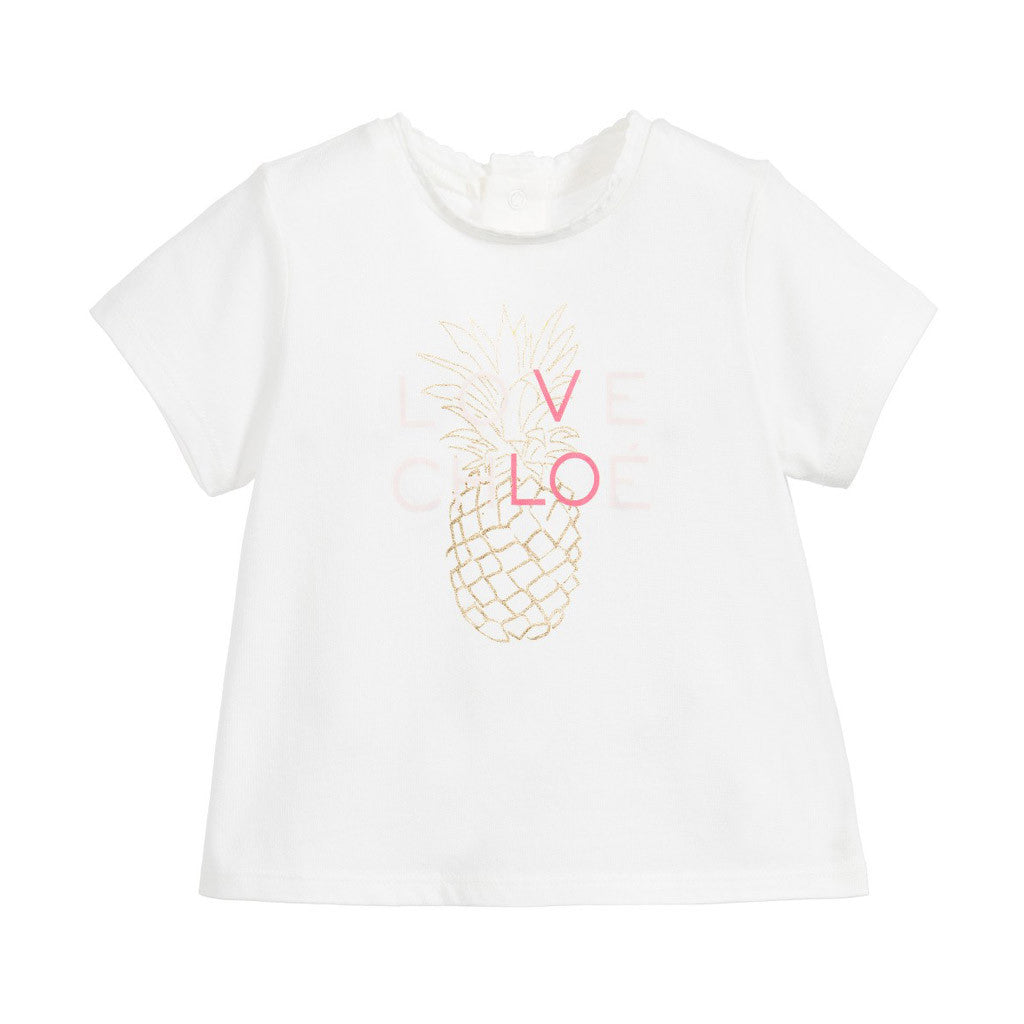 Cotton & Modal Pineapple T-Shirt