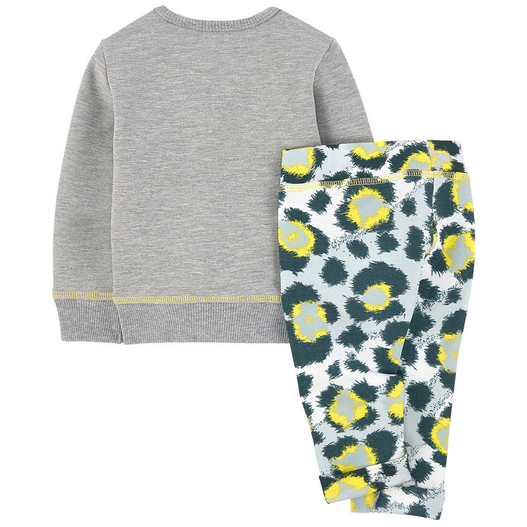 Fleece Sweatshirt and Pants