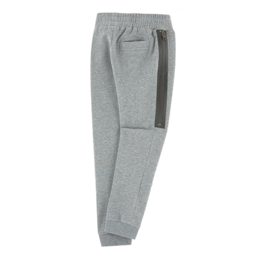 Boys Gray Side Zip Sweatpants