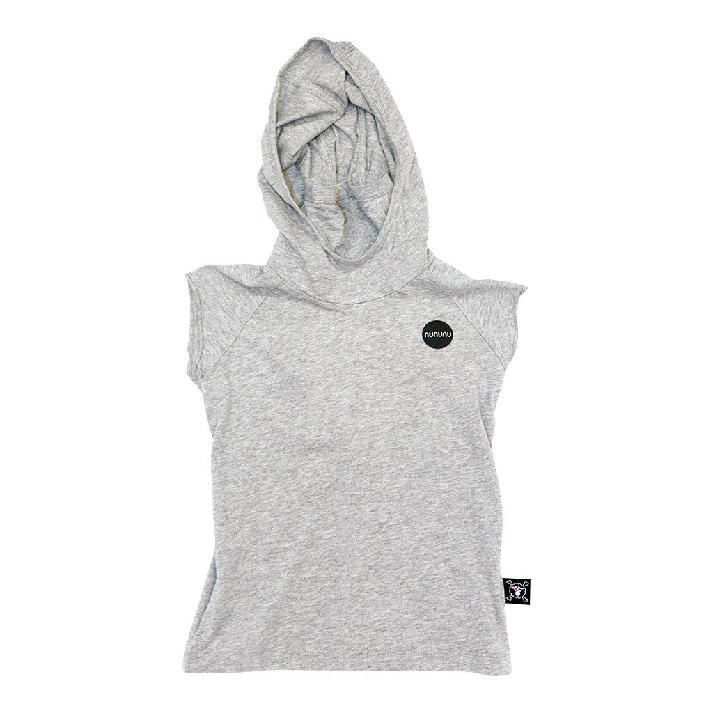 Gray Hooded Ninja Shirt