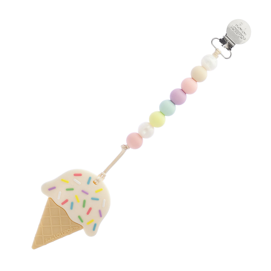 Ice Cream Teether- Cotton Candy