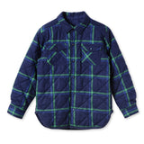 Joey Reversible Quilted Check Shirt