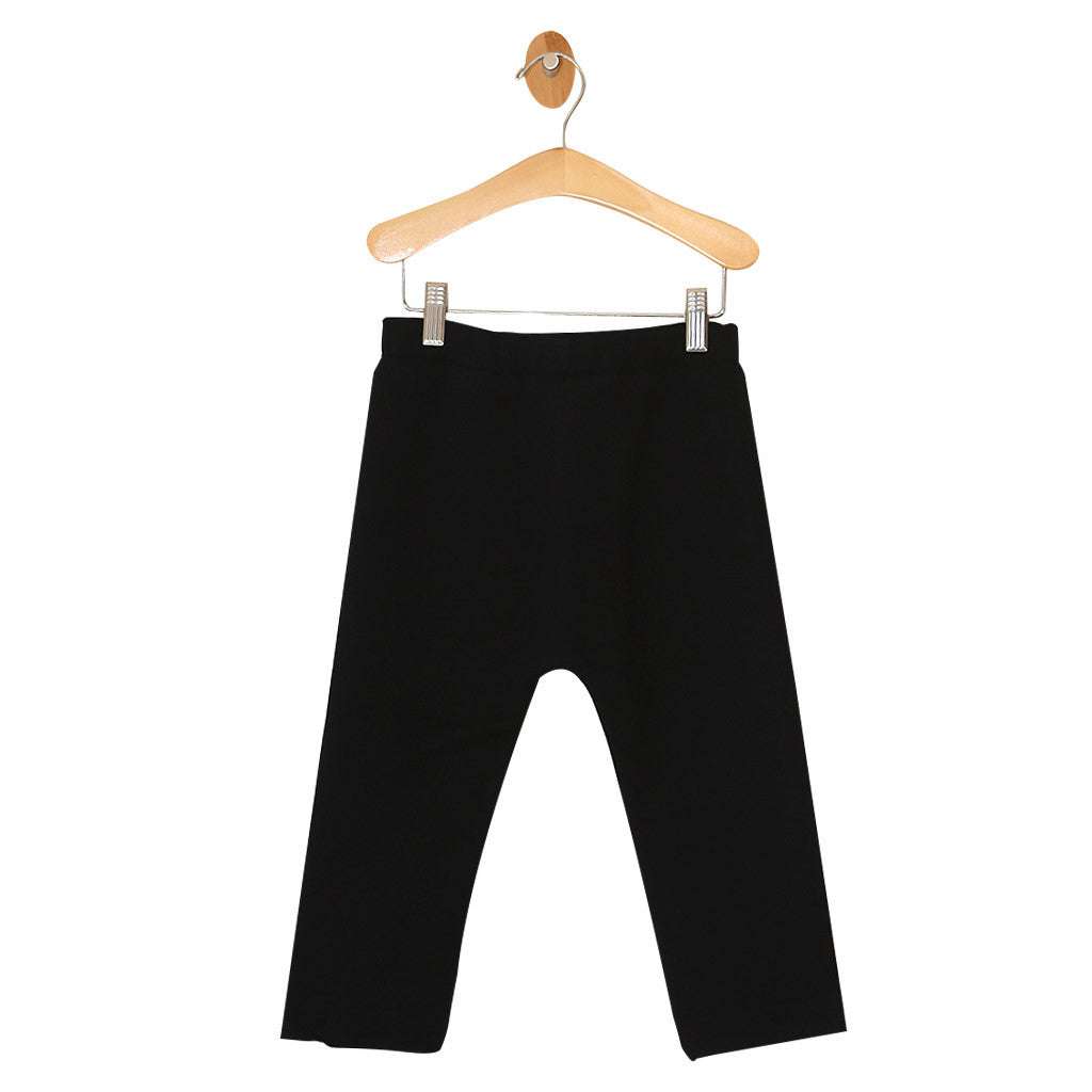 Knit Pants with Back Zipper
