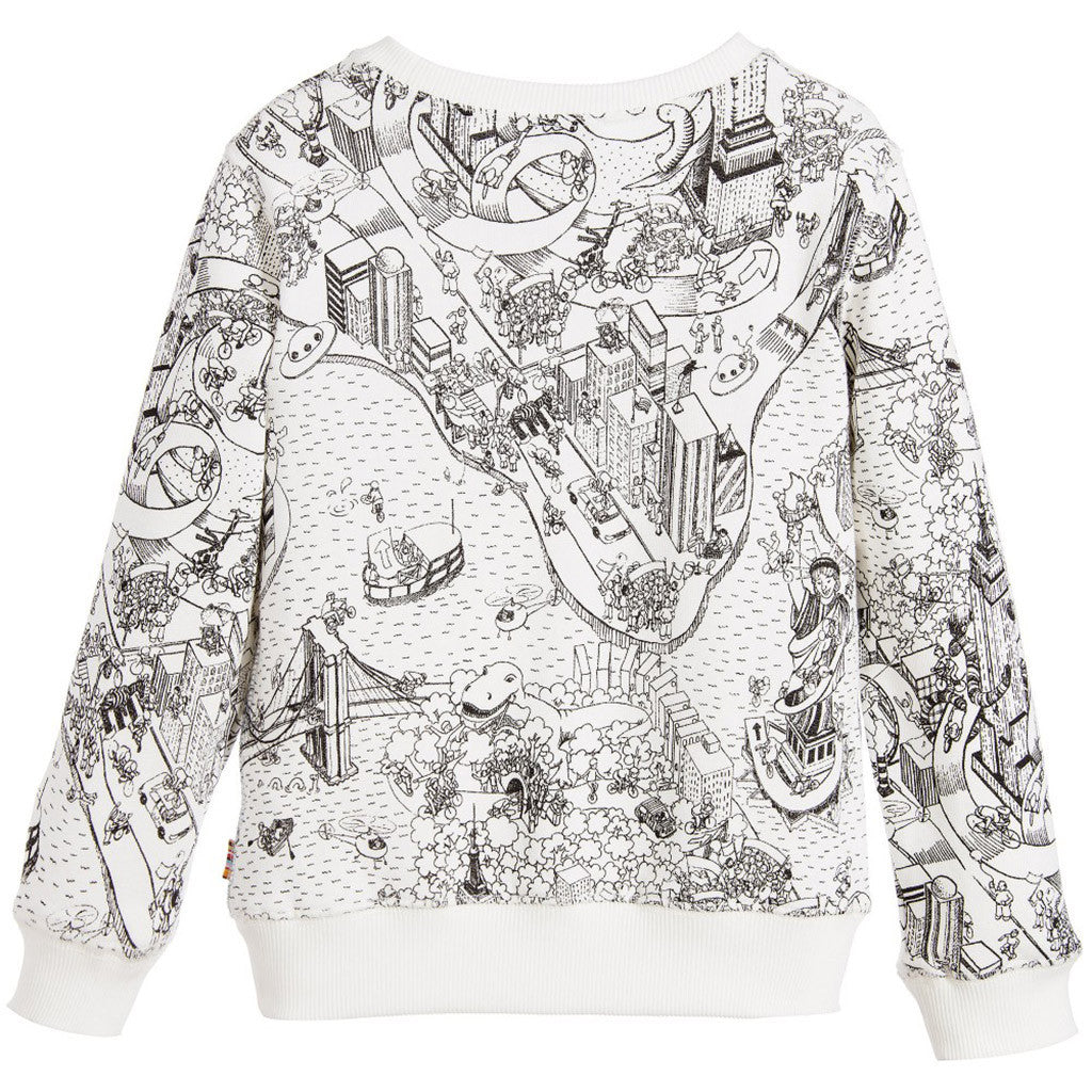 Maddox Sweat Shirt White