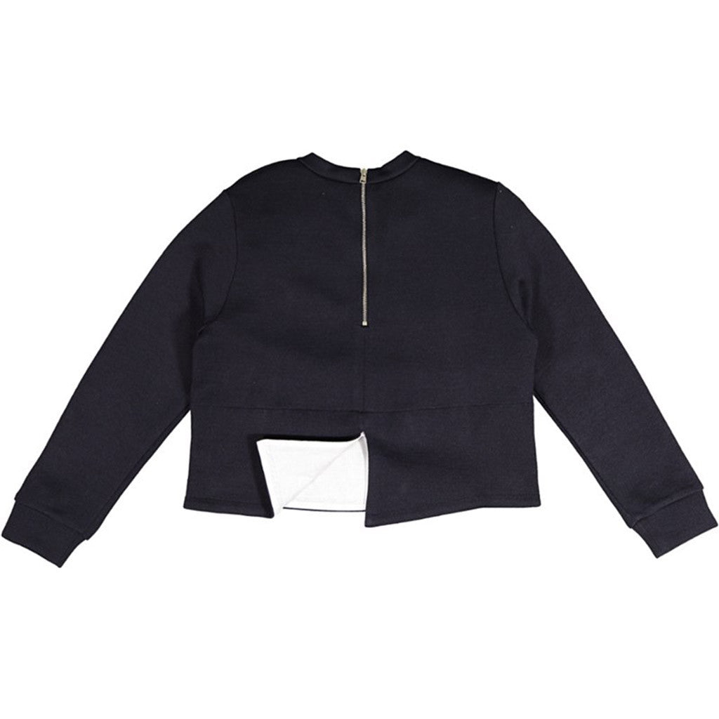 Navy Pocket Top