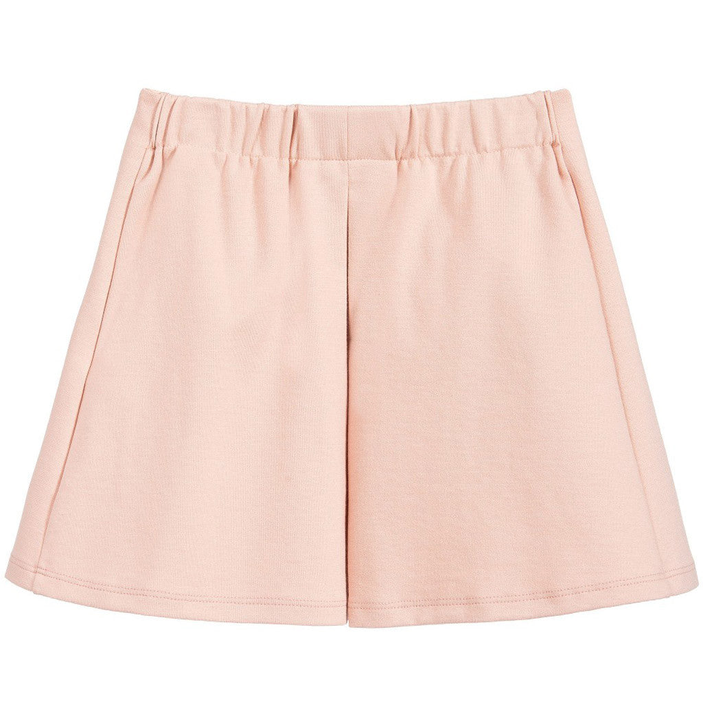 Milano Buttons Details Skirt Pink