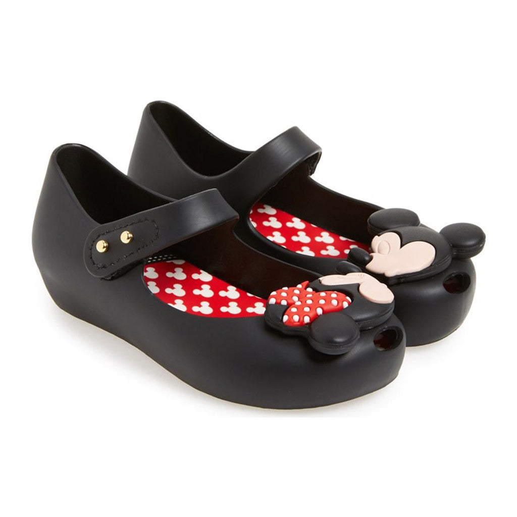 Mini Melissa Ultragirl Disney Mickey in Black